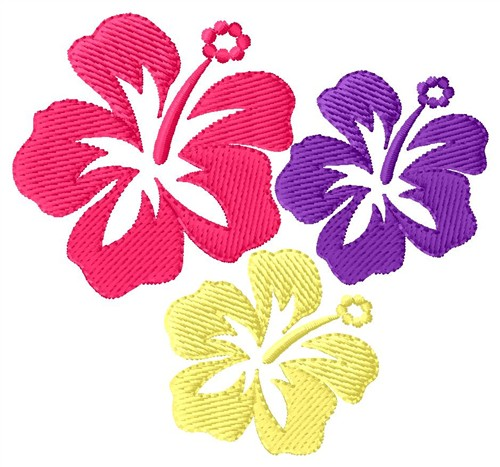 Hawaiian Flower Designs