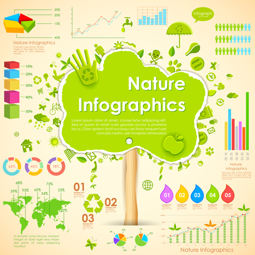 Infographic Clip Art Nature