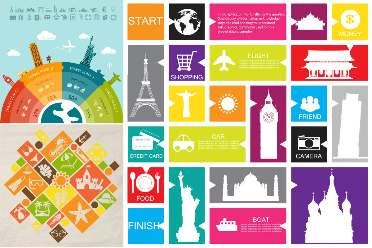 18 Free Infographic Vector Art Road Images - Free ...