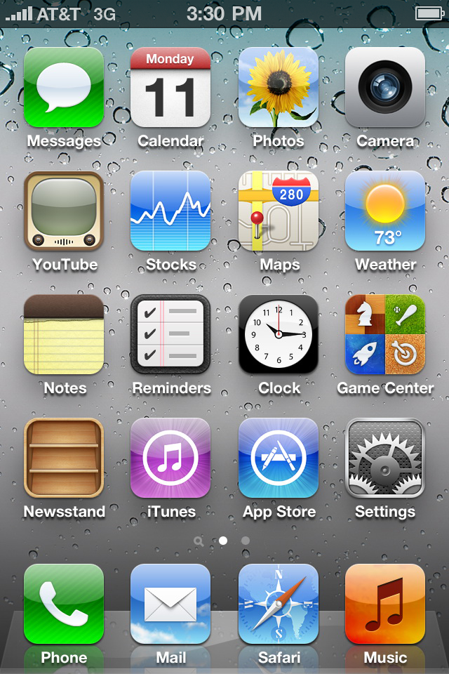 12 Apple IOS 5 Icons Images