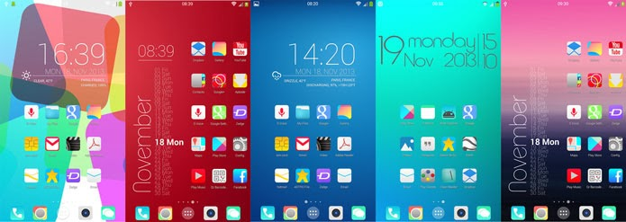 Best Themes For Android 2019