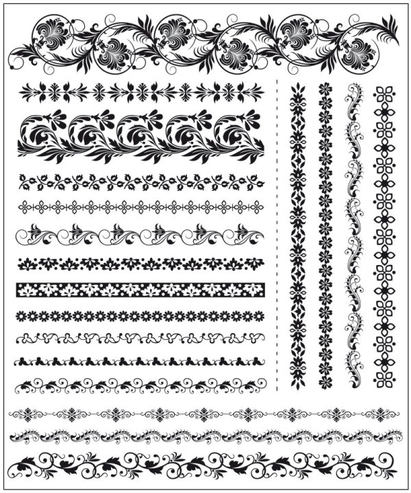 Lace Vector Art Free Download