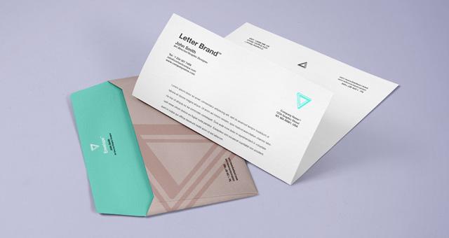 16 Envelope PSD Mockup Images