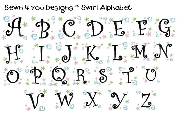 Letter Fonts Designs
