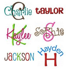 14 Machine Embroidery Fonts Free Downloads Images