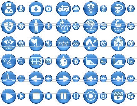 14 Free Shareware Medical Icon Images