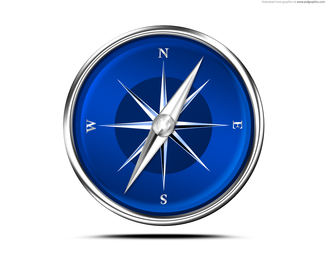 15 Compass Icon Blue Images