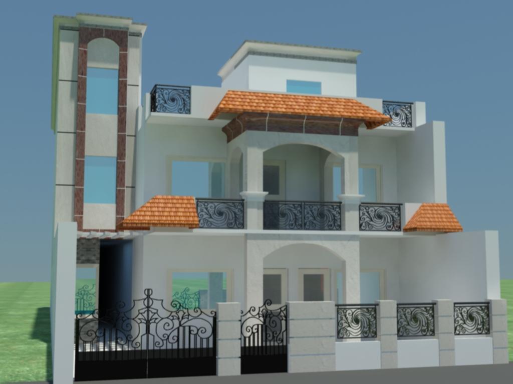 9 Home Design Front Elevation Images Modern Front House Elevation