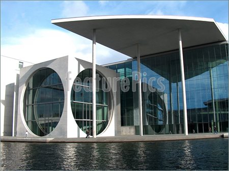 15 Circular Design Modern Office Building Images