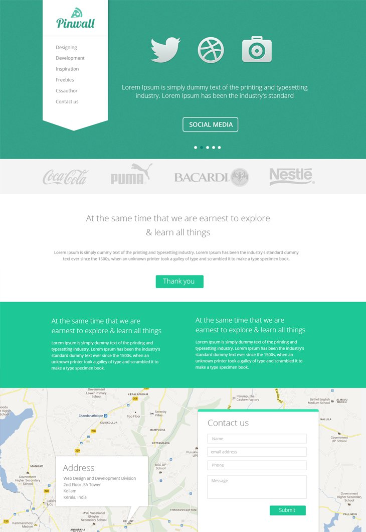 Modern Website Design Templates