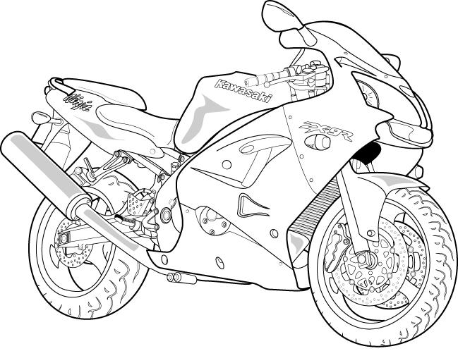 Line Art Motorcycle : Motorbike vector simple images motorcycle