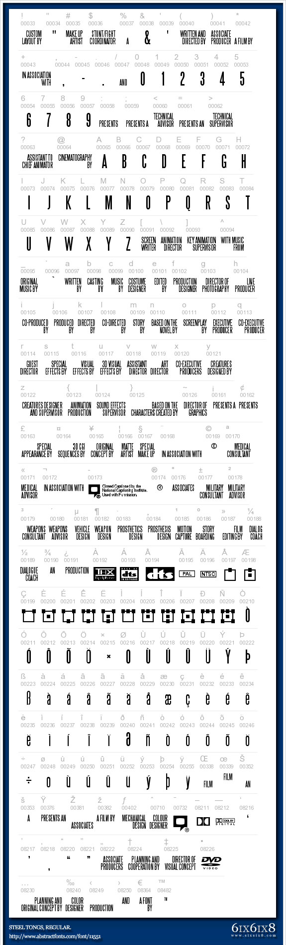 12 Movie Poster Font Images