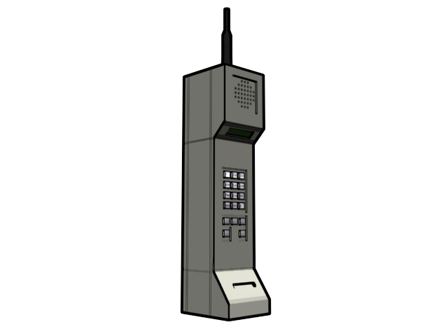 14 Old Cell Phone Icon Images