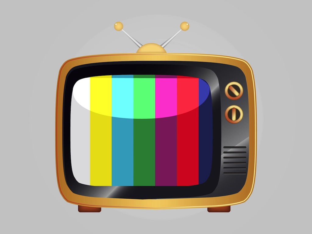 17 TV Icons Vector Free Images