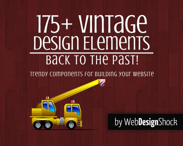 Retro Vintage Design Elements