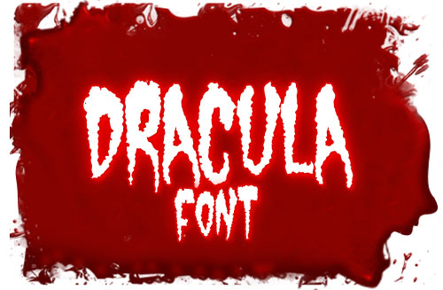 16 Scary Fonts Free Download Images