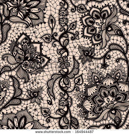 Seamless Abstract Pattern Lace