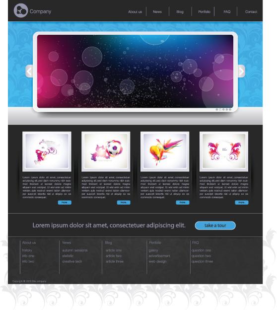 Simple Website Design Templates