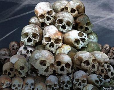 14 Pile Of Skull PSDs Images