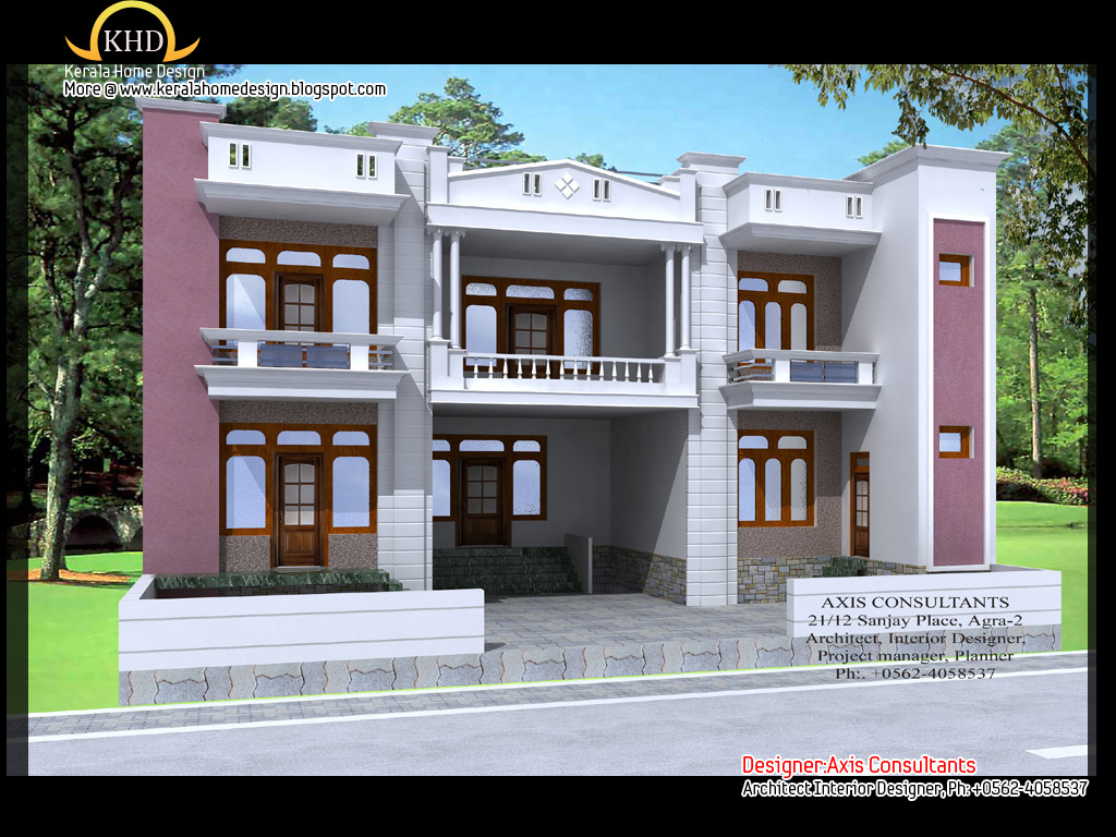 9 Home Design Front Elevation Images Modern Front House