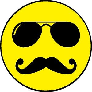 14 Icon Face Glasses Mustache Images
