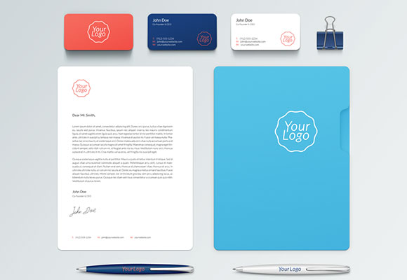 Stationary Mockup PSD