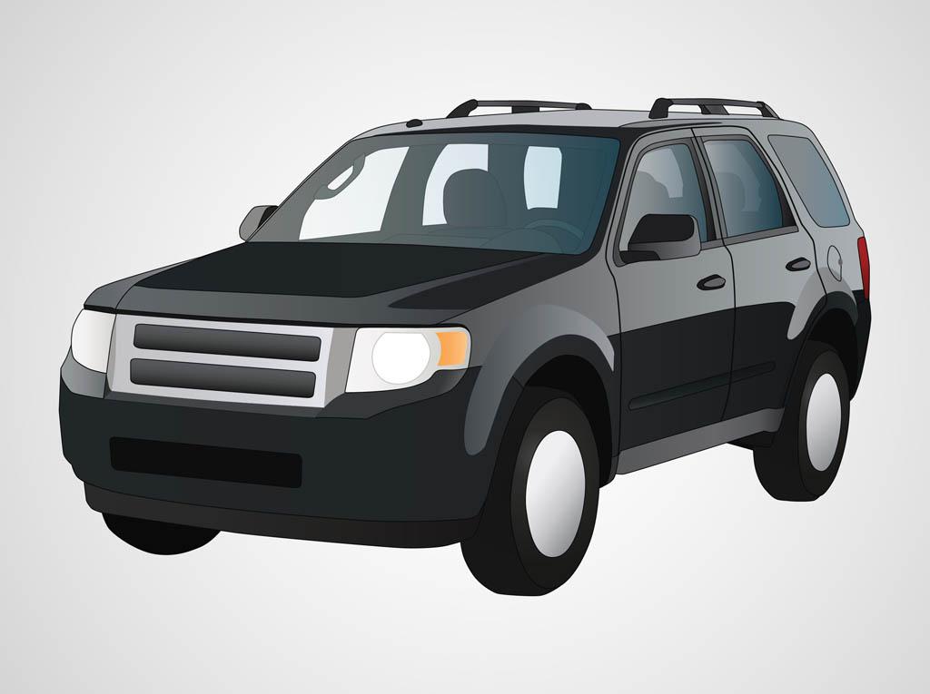 SUV Car Clip Art
