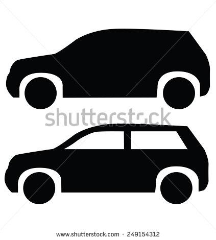 SUV Car Icon Shutterstock