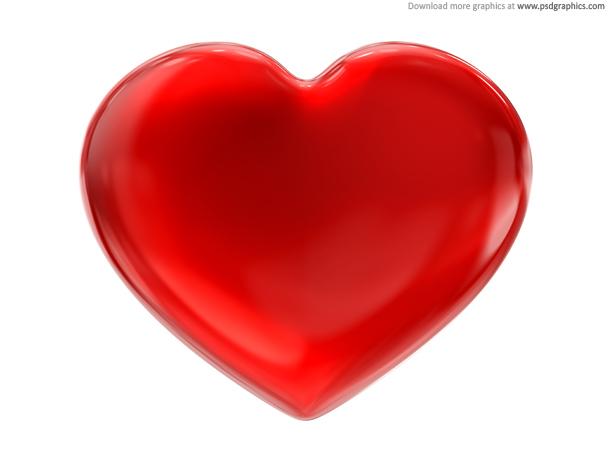 11 Heart Speaker PSD Images