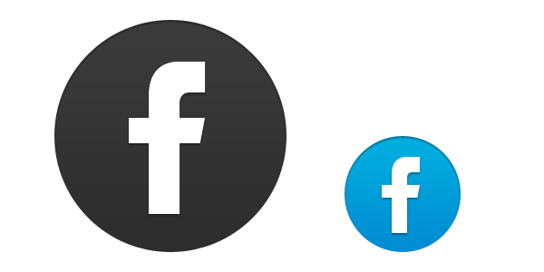 Transparent Facebook Icon Vector