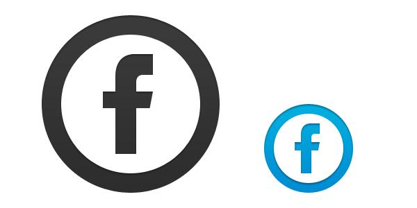 Transparent Facebook Like Icon