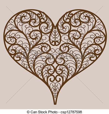 Vector Heart Clip Art