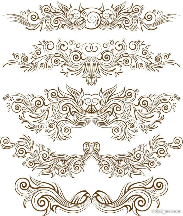 Vector Line Art Patterns