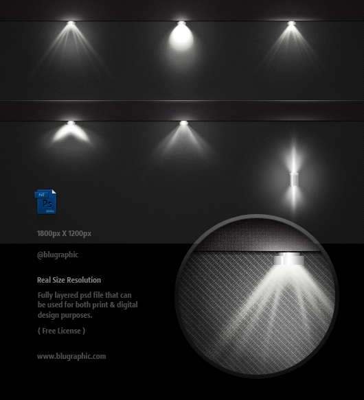 Vector Photoshop Light Effects