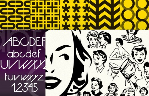 Vintage Retro Graphic Designs