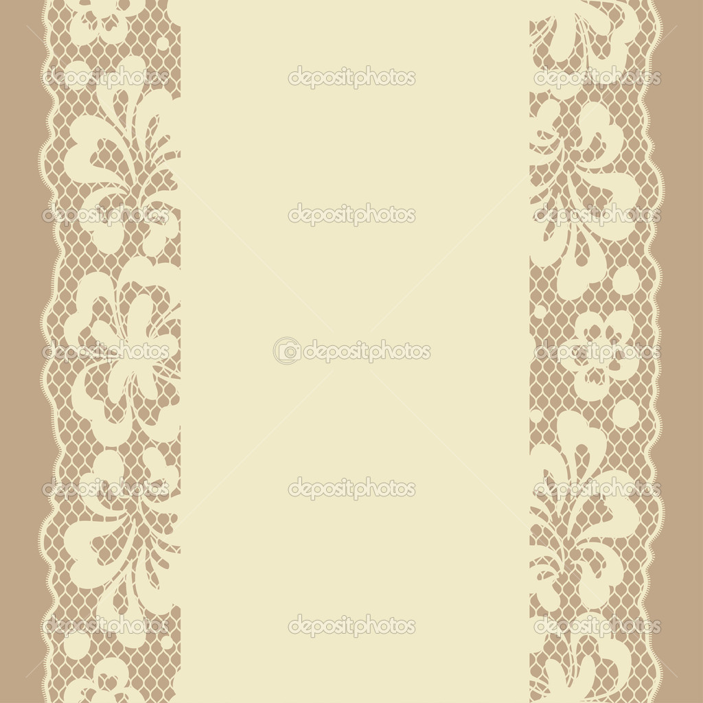 Vintage Vector Lace Pattern