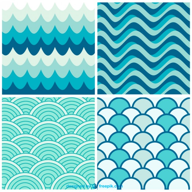 Water Pattern Waves