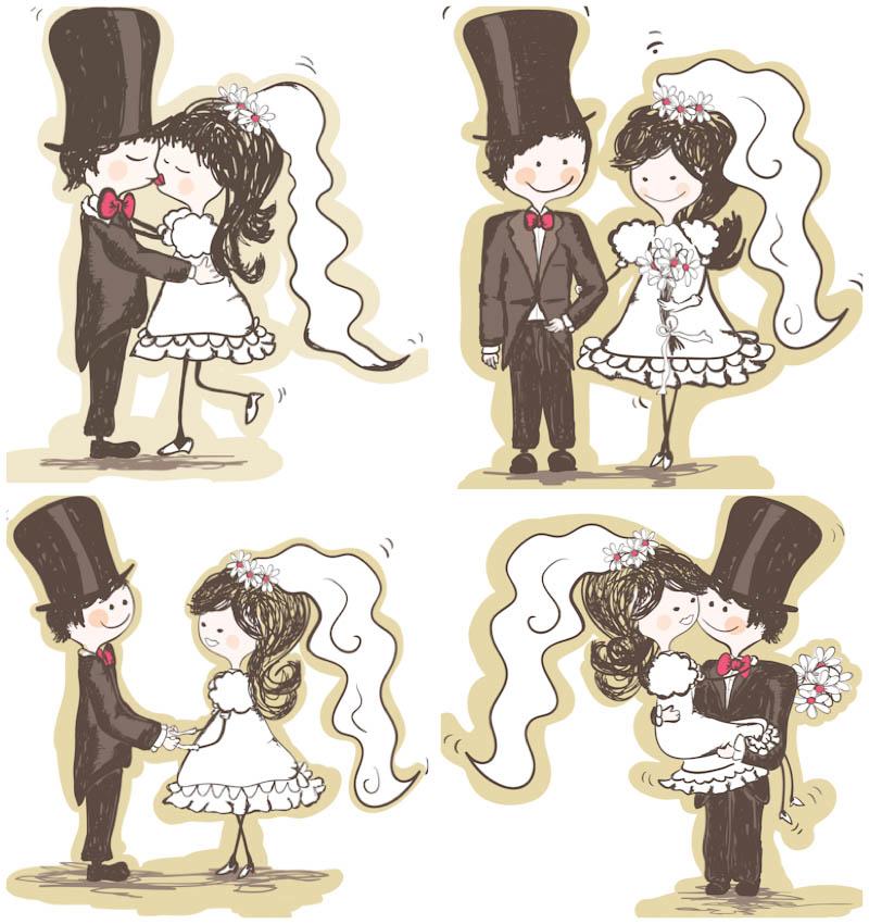 20 Groom Wedding Vector Graphics Images