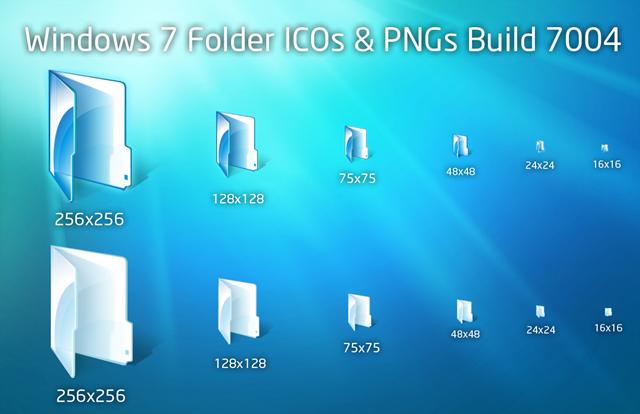 Windows 7 Folder Icons