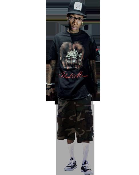Wiz Khalifa Camo Shorts
