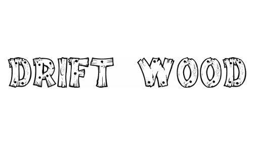 14 Letter Fonts That Look Like Wood Images