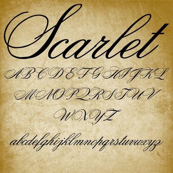6 18th Century Handwriting Font Images 18th Century