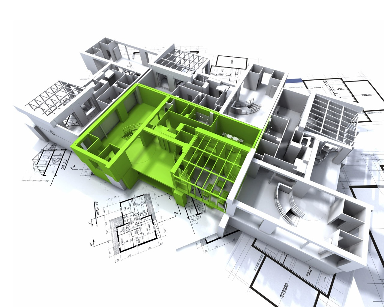 3D Architectural Drafting Designs