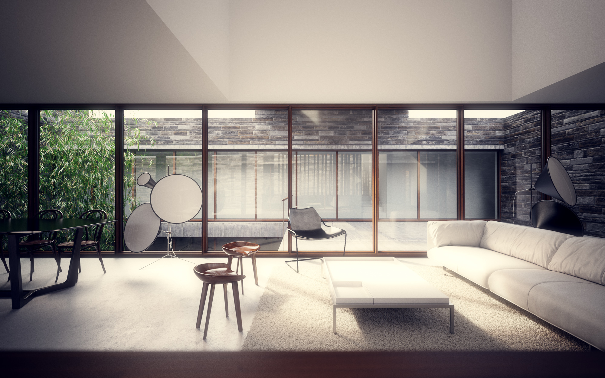 19 Lighting Architectural Renderings In Photoshop Images Architectural Rendering Photoshop