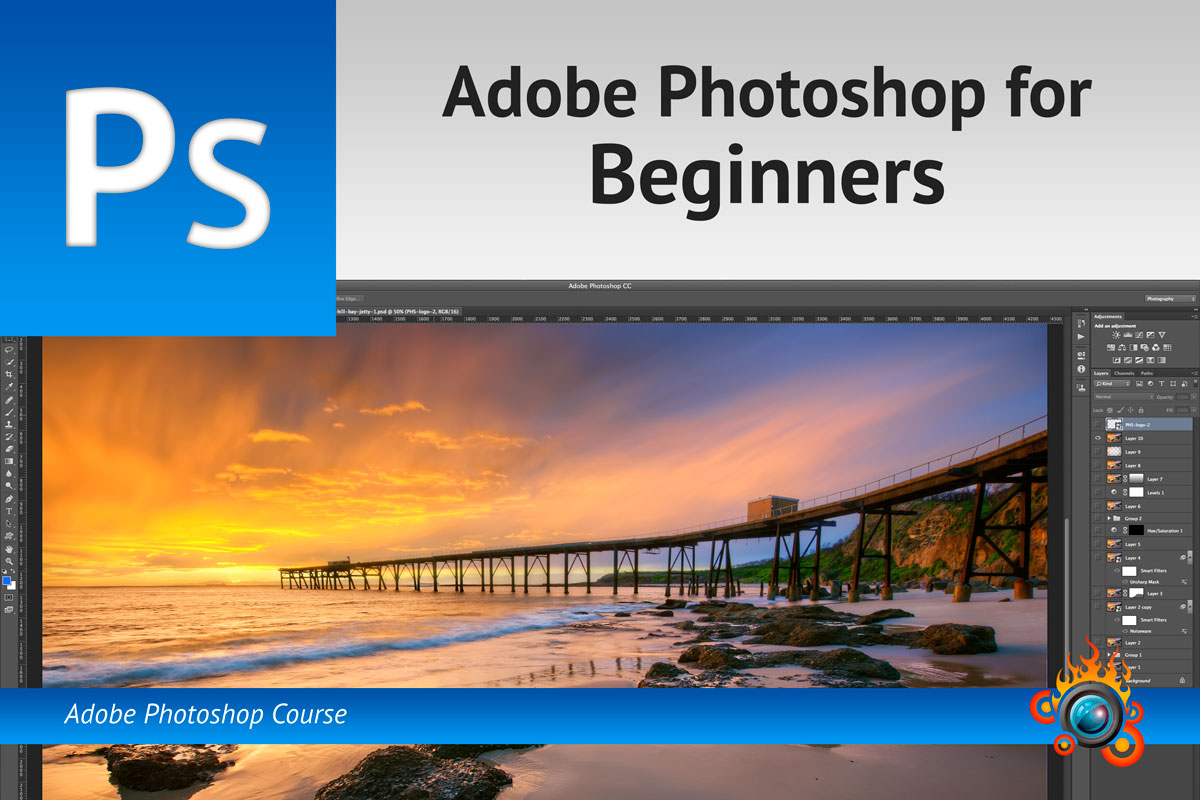 Adobe Photoshop Training for Beginners