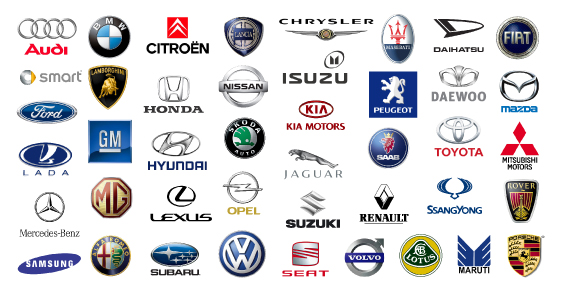 American Car Logos and Names