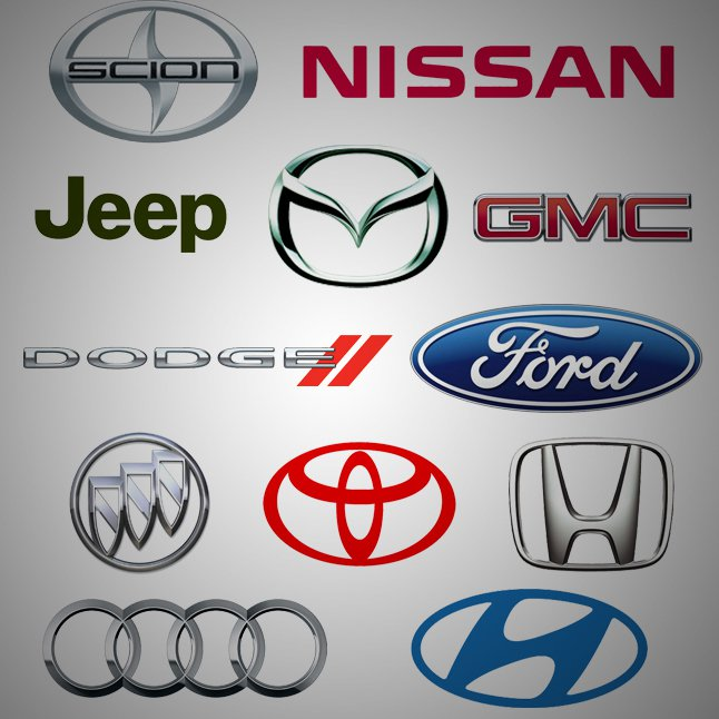 8 American Car Icons Images