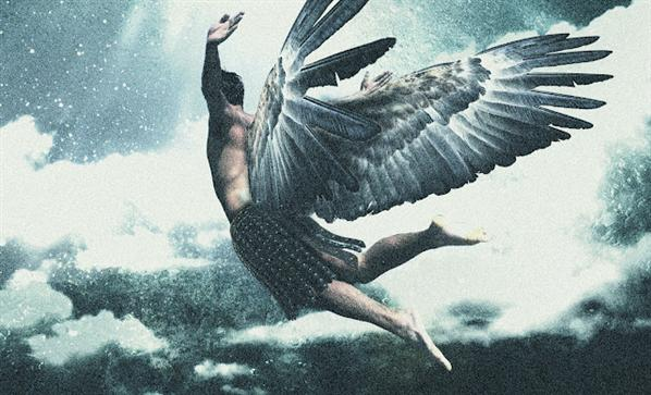 16 Photoshop Angel PSD Images