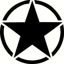 Army Star Decal