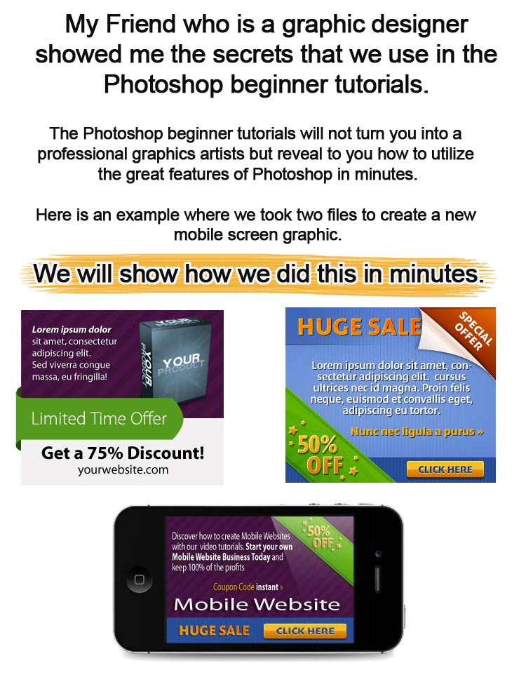 Beginner Photoshop Tutorials